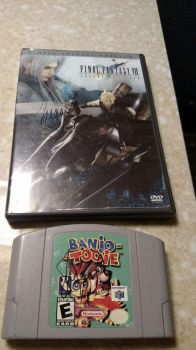 My signed copies of Banjo Tooie and FFVII AC by Sephy90