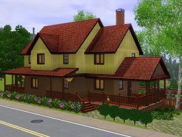 Sims 3 Family home by RamboRocky