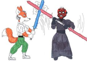 Duel of the Fates by fox-mccloud