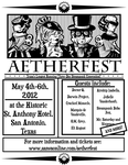 AetherFest Flier--Alt by labrattish