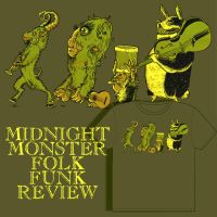 The Midnight Monster Folk Funk by invademyprivacy