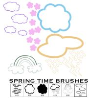 Spring Time Brushes by wilmacki