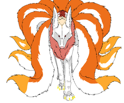 9 Tails Angel by AngeMonGone
