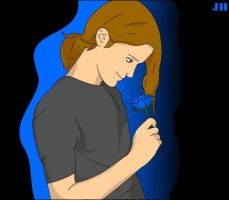 Me Blue Rose Vector by Xpand-Your-Mind