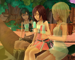 [Xion,Namine,Kairi] Not here but still by my Side. by MischiiOtaku
