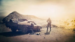 Mad Max Fury Road Movie Wallpaper by Binary-Map