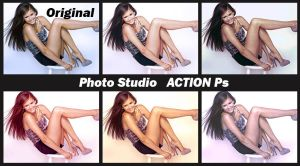 Photo Studio   ACTIONS Ps  by Tetelle-passion