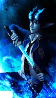 blue exorcist by vesner