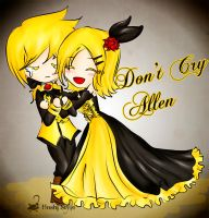 Don't cry Allen by Hoshi-Wolfgang-Hime