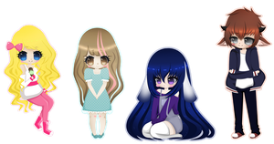 Point Commissions 1st Batch by Miielle