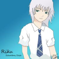 Riku- Schoolboy Style by Cally-wally