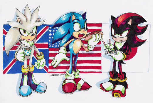 Sonic countries by f-sonic