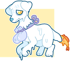 Drowned Dog Adopt - S O L D by goIdfishy