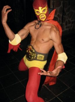 luchadore costume by AFXtuming