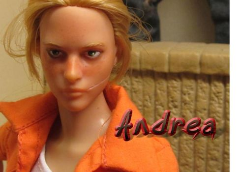 Custom 1/6 Scale Andrea , The Walking Dead by cbgorby