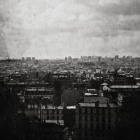 Paris view by xPorcelainHeartx