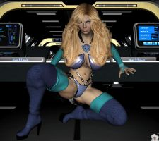 Earlier Version of Invisible Woman by WOW-Creations