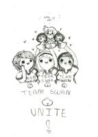 Team Swan Booty! UNITE! by Ask-MusicPrincess3rd