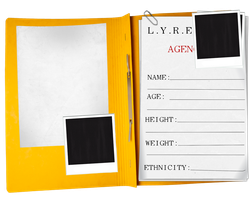 LYRE Application (Blank) by MlleNightingale