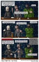 MGS3 - Boys' Night Out 1 by AmyJSmylie