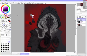 Drow Work In Progress by marpie