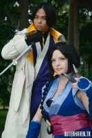 Aoshi and Misao 3 by CosplayCousins