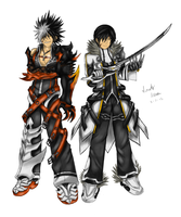Elsword: Reckless Fist and Blade Master (Old) by GaleSpider