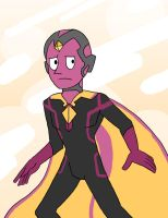 Vision the Crystal Gem by Lilnanny
