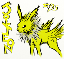 Jolteon! by The-End-Inc