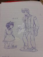 five nights at freddy s - Humanization by Mika-19