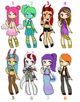 Colorful Adopts - Open by 102vvv