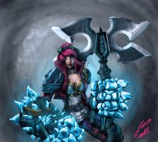 Vi League of Legends by GEBdesign