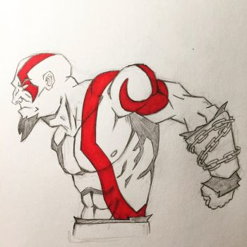 Kratos by NathanWest36
