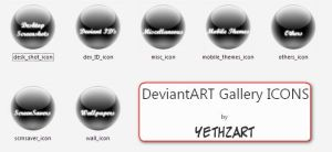 DA_Gallery ICONS by yethzart