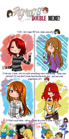 Doble meme 8D! by KuroiiFox