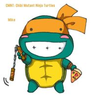 TMNT: CMNT: Mike by MZ15