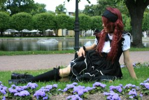 Gothic Lolita 13 by Kechake-stock