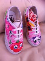 Moshi Monsters Vans by VeryBadThing