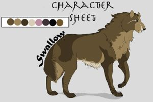 Swallow Color Code by Snowfirewolf