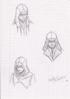Assassins creed sketch by emmewe