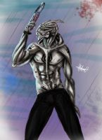 The turian chaman by MeLiNaHTheMixed