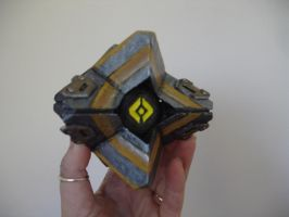 Aspect of Glass Ghost Shell by skycladstrega