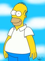 Homer Simpson by TheIransonic