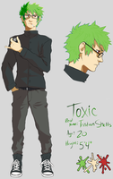 Commission - Toxic Ref by skullcaps