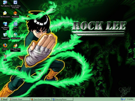 RockLee Wallpaper by Dani-Chan2