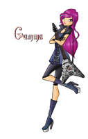 1/2 part Gamma rock outfit by Cristalinawinx