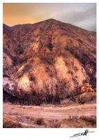 Scorched Mountain by solidblu