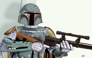 Boba Fett by Lord-Makro