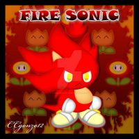 Fire Sonic Chao by CCgonzo12