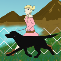 Bo at the World Dog Show 2 by Alcemistnv